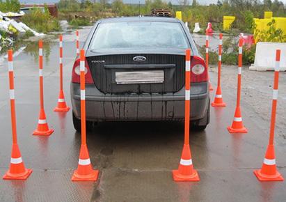 сигнальные вехи для обучения вождению